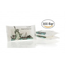 TRAVELWELL Landscape Series Hotel Travel Size Massage Cleaning Soaps 1.0oz/28g, Individually Wrapped 300 Bars per Box