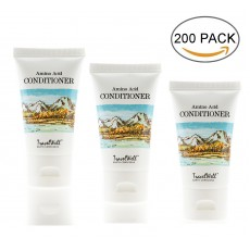 TRAVELWELL Landscape Series Hotel Travel Size Guest Conditioner 1.0 Fl Oz/30ml, Individually Wrapped 200 Tubes per Box