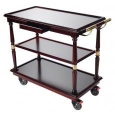 Serving Trolley Cart 3 Tier Kitchen Cart with Easy Moving Flexible Wheels