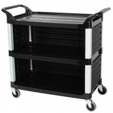 Commercial 3-Tier Serving Utility Carts