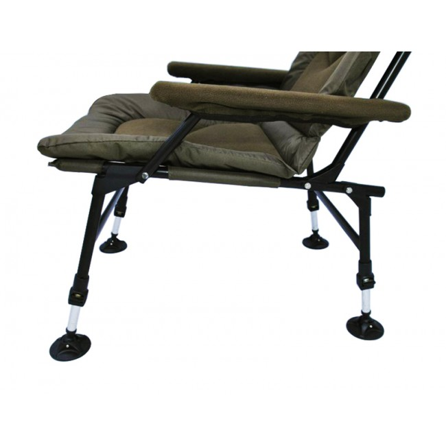 Hi-Leg Metal Frame Outdoor Fishing Chair Folding Arm Fish Chair(201005C)