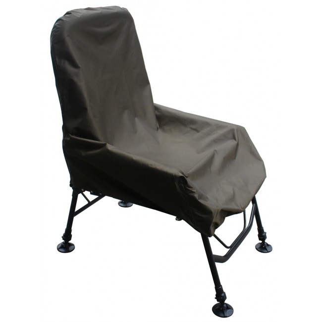Metal Frame Outdoor Fishing Chair Folding Arm Fish Chair with A Free Chair Cover