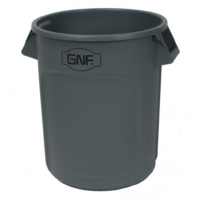 32 Gallon Outdoor Indoor Trash Can Garbage Bin with Casters Base(ST121-Y)