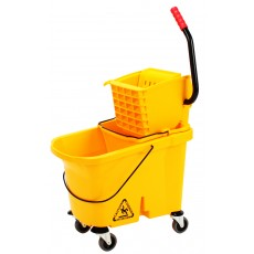 Commercial Mop Bucket With Side Press Wringer